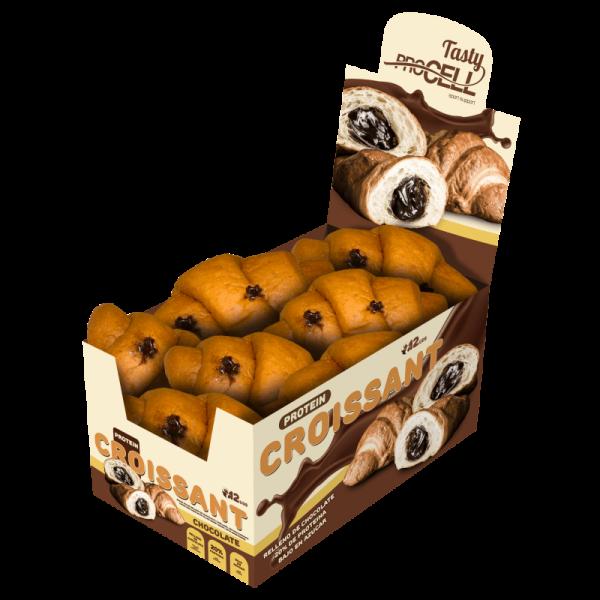 كرواسون بروتين محشو بالشوكولاته بروسيل