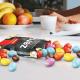 حبيبات بالشوكولاته والفول السوداني بروزيس