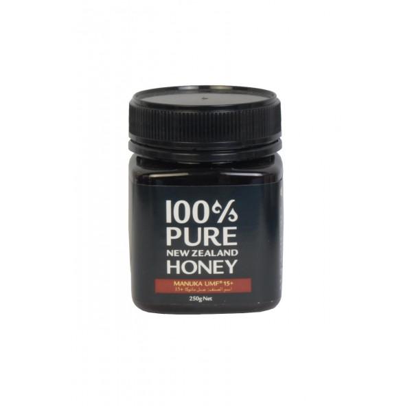 عسل مانوكا 100% بيور نيوزلندا يو ام اف +15 250 جرام