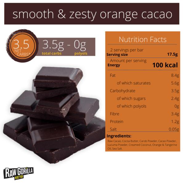 بار الشوكولاته بالبرتقال - رو قوريلا