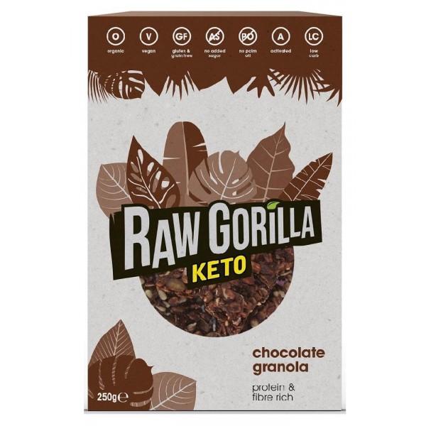جرانولا كيتو الشوكولاته - رو قوريلا