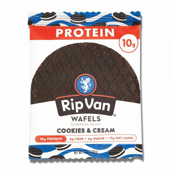وافل بروتين نكهة كوكيز اند كريم ريب فان
