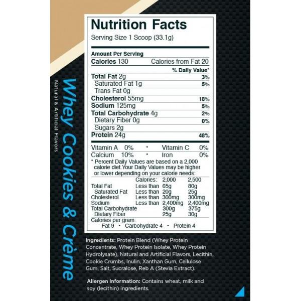 بروتين واي رول ون - كوكيز آند كريم