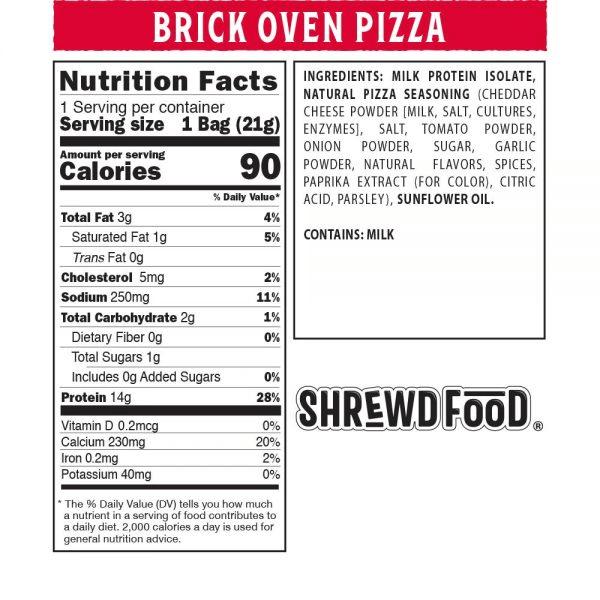 بفك بنكهة البيتزا - Shrewd Food