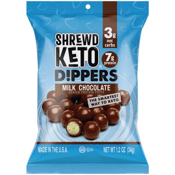 كرات شوكولاته الحليب - Shrewd Food