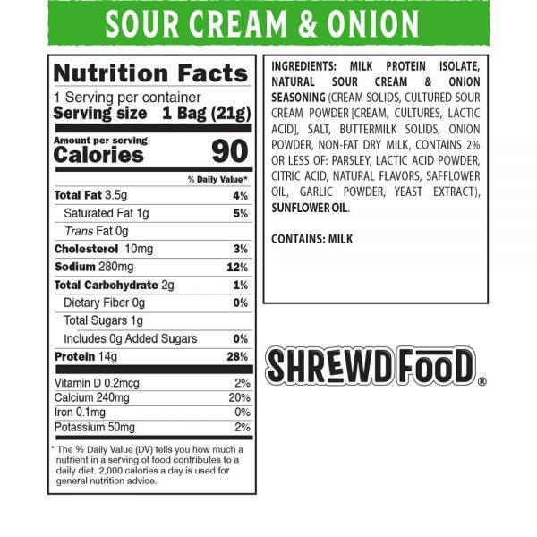 بفك نكهة السور كريم والبصل - Shrewd Food
