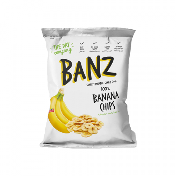 بومز شرائح الموز المجففة- ذا دراي كومباني