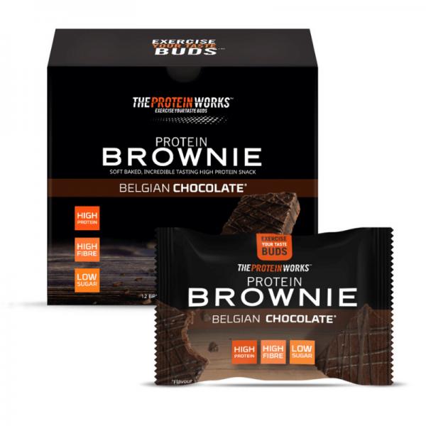 براوني شوكولاته بلجيكية - ذا بروتين ورك