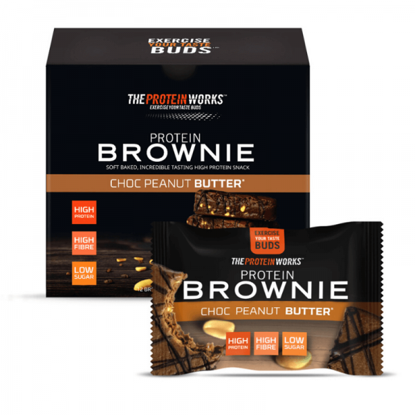 براوني شوكولاته وفول سوداني - ذا بروتين ورك