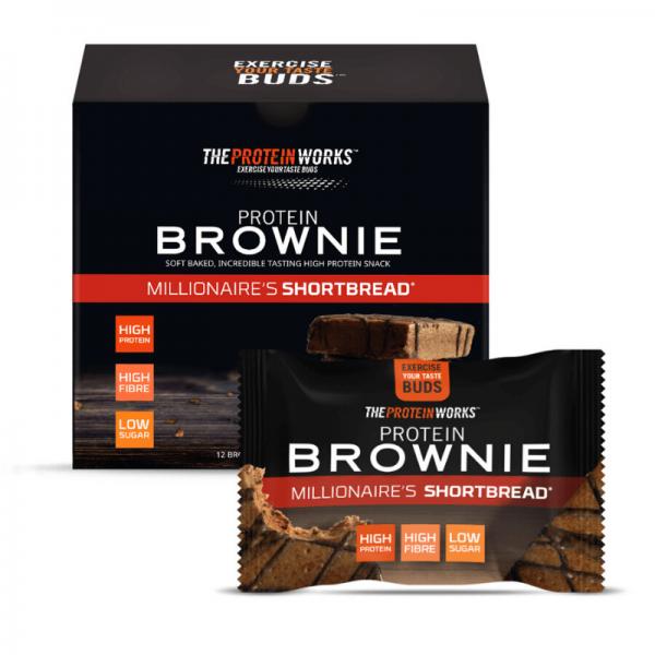 براوني كعك المليونير - ذا بروتين ورك