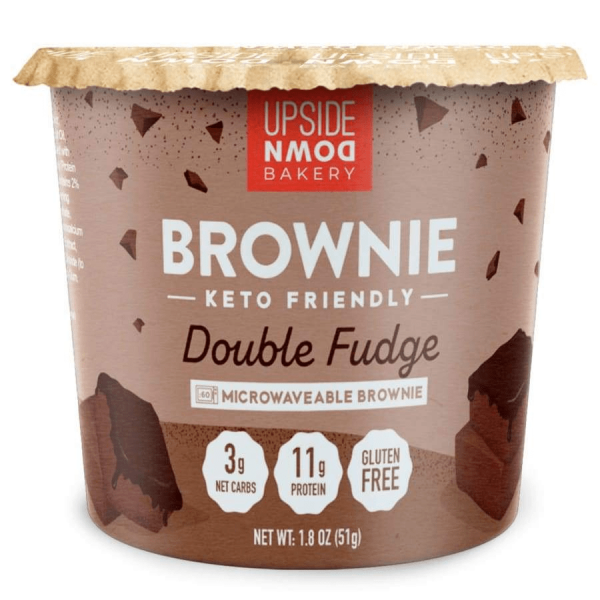 كوب براوني دبل فدج الشوكولاته - اب سايد داون باكيري